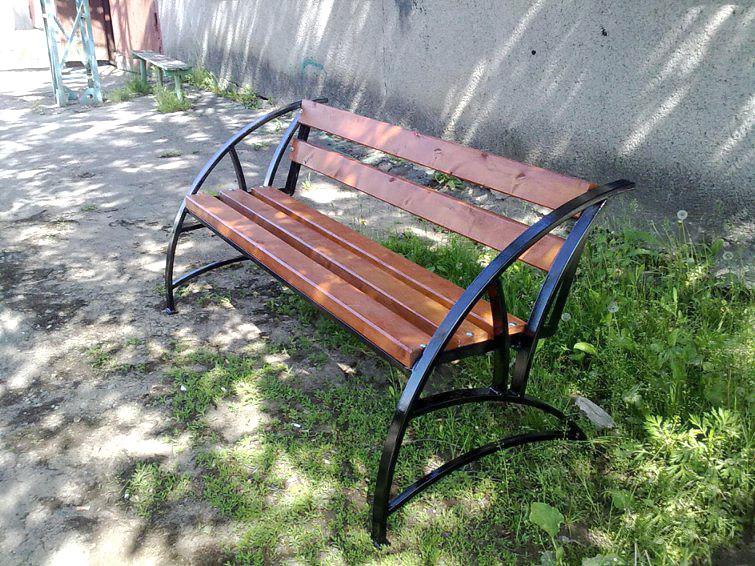 Скамейка для дачи фото